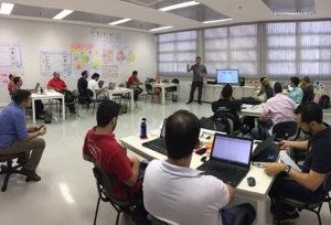 Ao longo de seis meses, os selecionados recebem mentorias, treinamentos, ferramentas tecnol�gicas, infraestrutura e investimento, al�m do networking e conhecimento de experientes empres�rios